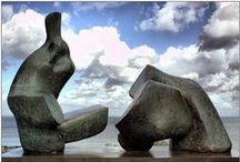 Artist: Henry Moore / by Kathleen Coleman