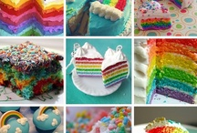 Somewhere Over the Rainbow Party / The theme has been chosen for the big 5!  So excited, she came up with it all on her own.  I was really hoping for RAINBOWS! / by Cristina Sans