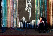 sweet street art / by Arianna Sunyak