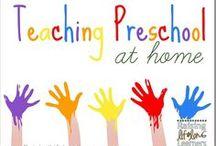 Homeschool: Tot School/Keeping Littles Busy / by Jana D