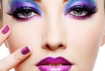 Purple Makeup / In the world of makeup, purple still reigns!  This pinterest board is dedicated to this regal color / by Raging Rouge