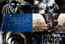 Ravenclaw / Hogwarts house pride. Wit beyond measure is man's greatest treasure.  / by Sarah Wednesday