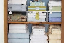 Home-Linen Closets / by Ana Kammarman