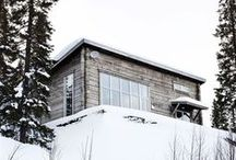 Dreaming of a cabin / by Catherine Lazure-Guinard | Nordic Design
