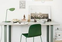 Workspaces & desks / by Catherine Lazure-Guinard | Nordic Design