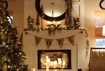 Christmas - it's the most wonderful time of the year! / #Christmas, #Christmas Decor, #Rustic, #Holiday. / by Erin McCarrell