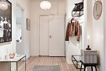 Entryways & hallways / by Catherine Lazure-Guinard | Nordic Design