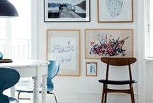 On the wall / by Catherine Lazure-Guinard | Nordic Design