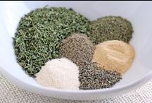 Mixes & Seasoning Recipes / Recipes for mixes and seasonings. / by Andrea Hatfield