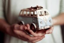 Dreamy VW Buses / by Maria de los Angeles