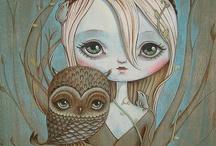 Illustrations/Digital Art/Design / by Maria de los Angeles