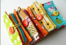 Needle books / by farbenmix