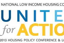 United for Action / Get ready for our 2013 Housing Policy Conference and Lobby Day with information, tips & tricks for making the most of your conference experience. / by National Low Income Housing Coalition