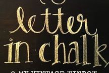 chalkboards / by Kimberly Miller