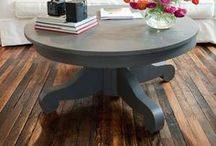 coffee tables / by Kimberly Miller