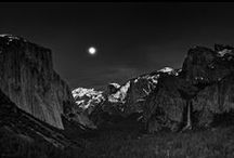 Ansel Adams /   Black and White Landscapes from the master of the art form / by Eddie Mathis