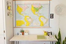 Desks & Workspaces / by Alejandra Plaza