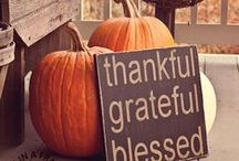 Fall/Thanksgiving / by Kasie Ellenburg