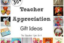 Teacher Gifts / by Jessie Keckeisen