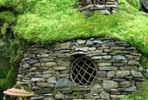 fairy . houses / Fantasy architecture in miniature for the garden  / by Sandra Hachey