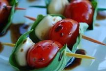 appetizers . snacks / by Sandra Hachey