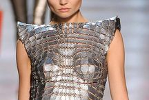 modern . armor / Modern fashions inspired by designs of ancient armor / by Sandra Hachey