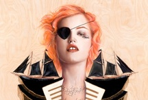 obsessed with pirates / by Heather Henbest