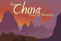 CHINA - Land of Rivers and Mountains / by Sarah L. Vargas