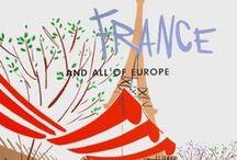 FRANCE - L'Hexagone / by Sarah L. Vargas