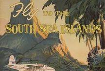 POLYNESIA - The South PacifIc / Samoa, Cook Islands, Easter Island, Fiji, Micronesia, New Caledonia, Pitcairn Islands, Solomon Islands,Tahiti, Tokelan, Tonga, Vanvatu, Wallis & Futuna, Tuvalu, Etc / by Sarah L. Vargas