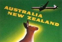 AUSTRALIA and NEW ZEALAND - The Land Down Under / . / by Sarah L. Vargas