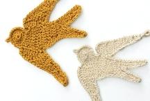 crochet/knit applique / by deborah