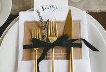 Table setting / by Mio Creative Design