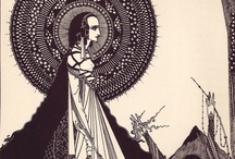 Harry Clarke / As series of illustrations by Irish illustrator Harry Clarke to accompany Edgar Allan Poe  tales of terror! / by Wing's Art and Design Studio