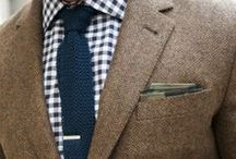 m e n s w e a r / Handsome men wearing handsome clothes / by Catherine Landers