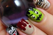 Pretty Nails... Halloween Inspiration / by Allison Packer-Pennington