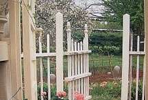 Through the garden gate / Come in and enjoy the beauty / by Janet Trotter