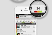 Design - mobile commerce / User interface design for mobile devices. eCommerce and corporate. / by Flow Bo