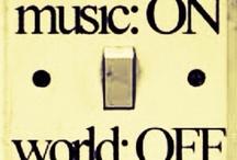 Music Stuff / by Rosemary Malone