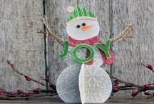 Christmas Crafts + Holiday Home / Christmas Crafts, Christmas Decorations, Holiday Home / by CraftFoxes