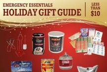 Gifts Under $10 / Want to spend a little, but give a gift that does a lot? Give the gift of preparedness and spend less than $10 with these great gift ideas. / by Emergency Essentials, LLC