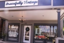 Gracefully Vintage (At the Shoppe) / Vintage & Antique Furnishings-Home & Garden Decor-Architectural Elements & European Influence  {Located in Historic Folsom, Ca -Gracefully-Vintage.Com} / by Gracefully Vintage