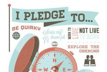 I Pledge... / Everyone has pledges. For some of you, that might be discovering a new captivating book, learning a foreign language, or maybe you plan to swim in every ocean. Whatever you pledge to do with your life, make it count and do what makes you happy!  We want to hear from you! What's YOUR Pledge?   Facebook, Instagram or Tweet a picture that best symbolizes your personal pledge with the hashtag #IPledge.   / by STA Travel