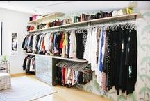 Closets / by Helena del Rio - A Diary of Lovely