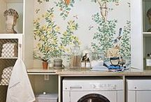 Laundry Rooms / by Helena del Rio - A Diary of Lovely