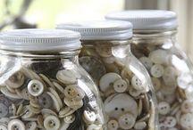 Button Love / Buttons... gotta love them! / by Jenny Svensson