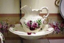 Ceramics/Pitcher and Basins / by Ann Crosby