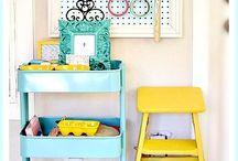 Craft Storage / Storage ideas for various crafts / by Deanne Evans