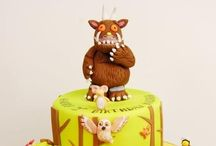 The Gruffalo / ideas for a requested cake topper / by Deanne Evans