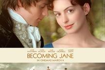 Becoming Jane.......Austin / Jane Austin...  Stories.. Author..movies / by Linda Sherrin